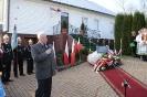 Odsłonięcie tablicy upamiętniającej nocleg Józefa Piłsudskiego w Strzegowej